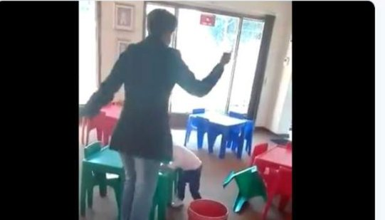 South Africans shocked at 'nursery abuse' video