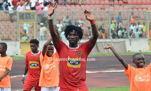 South African giants Orlando Pirates express interest in signing Kotoko striker Songné Yacouba