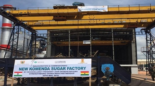 Komenda Sugar Factory dormant due to technical, financial challenges -Alan Kyerematen