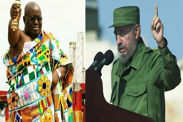 President Akufo-Addo noted that it was during the time of the late Cuban leader that Cuba emerged as a reliable friend of Africa.