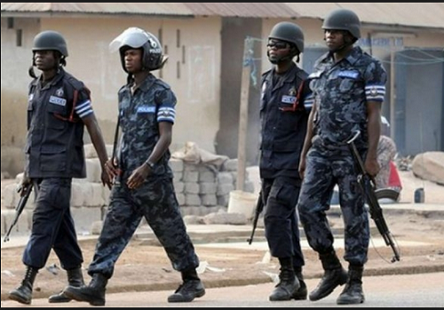 4 arrested by Police at NPP office at Effiduase