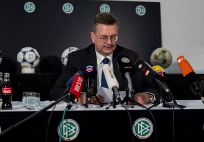 Grindel's three-year tenure as president is the shortest in the German FA's history