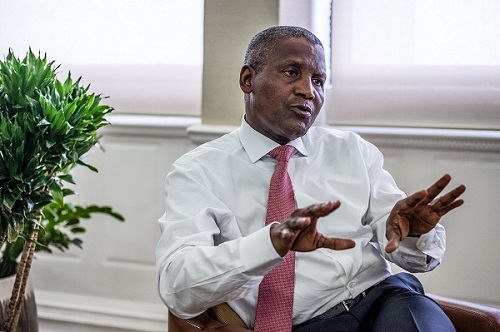 VIDEO: I once withdrew $10m from a bank just to be sure I am rich- Dangote