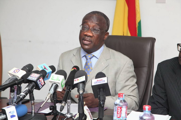 Mr Emmanuel Kofi Nti, the Commissioner General of the Ghana Revenue Authority