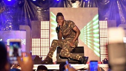 VIDEO: Stonebwoy puts up an epic performance at the VGMA  2019 nominees jam