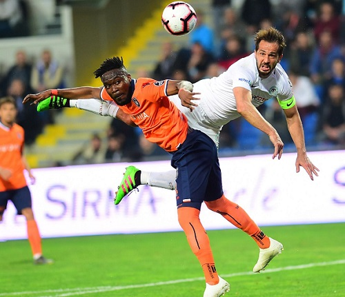 PHOTOS: Ghanaian defender Attamah Larweh puts up a splendid performance in Başakşehir win over Konyaspor