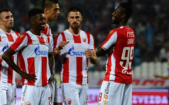 Richmond Boakye Yiadom bags brace as Red Star Belgrade demolish Proleter