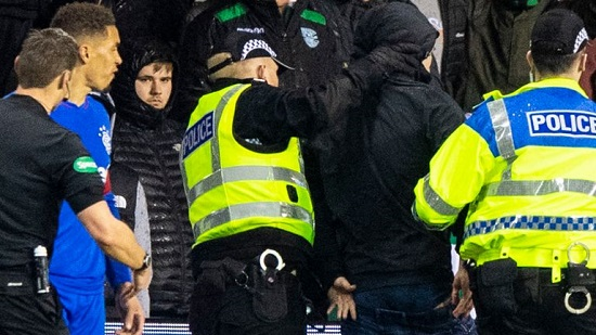 Hibernian fan jailed for 100 days