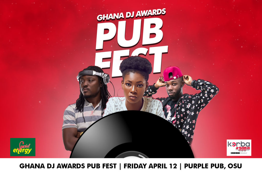 Ghana DJ Awards: Pub Fest to hit Purple Pub this Friday