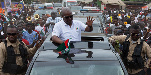 Mahama to begin Central region tour today
