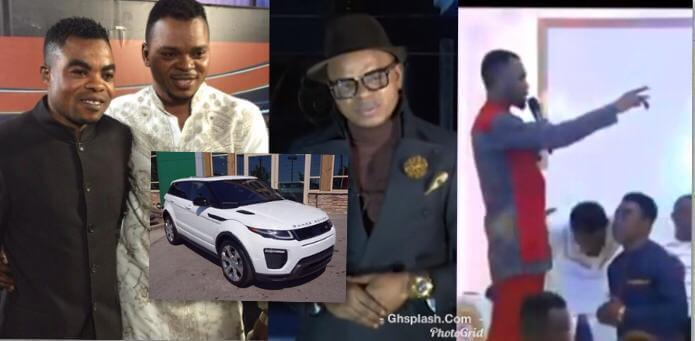Obinim 'disowns' junior pastor after accepting gifts from Rev. Obofour