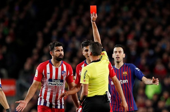 Diego Costa slapped with an 8 match ban