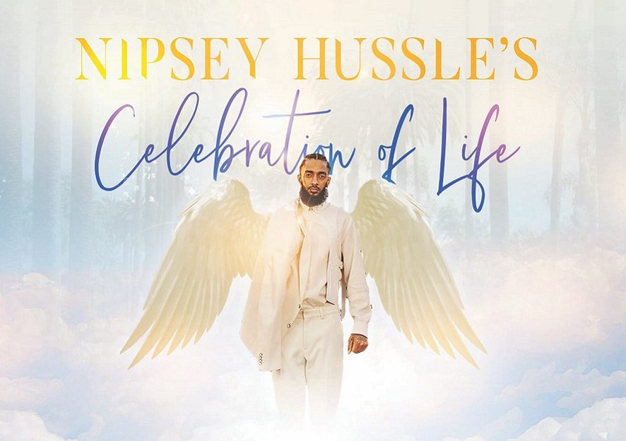 Nipsey Hussle's funeral at the Staples Center in LA