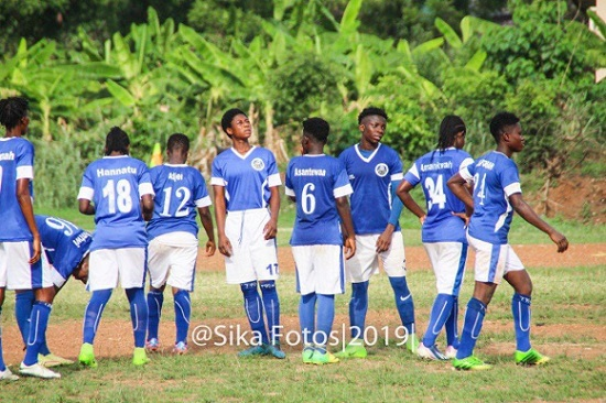 Women's Special Competition: Ampem Darkoa hammer Prisons Ladies to reach final