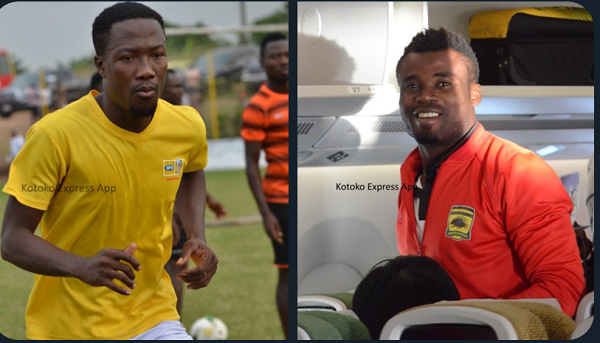 Kotoko terminates contracts of Abass Mohammed and Frederick Boateng
