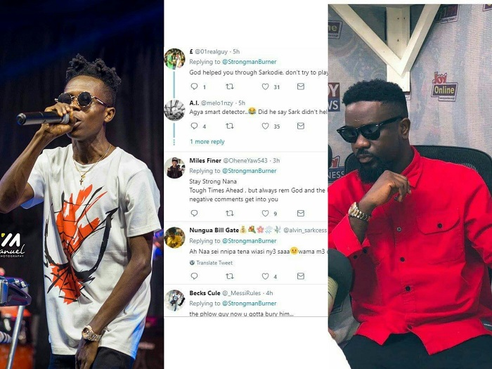 My tweets was to Man United, Sarkodie - Strongman