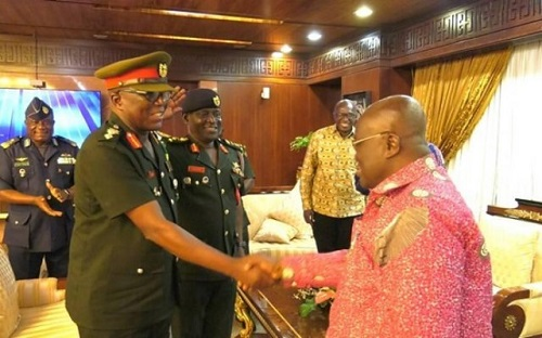 Prez. Akufo-Addo mourns Major General Vib-Sanziri