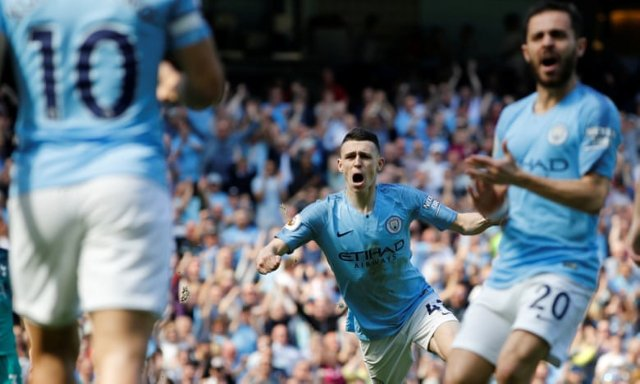 EPL: Man City hold on against Tottenham to go top