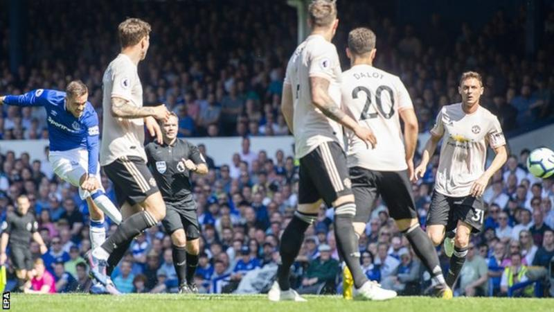 EPL: Everton crucify Man United on resurrection day