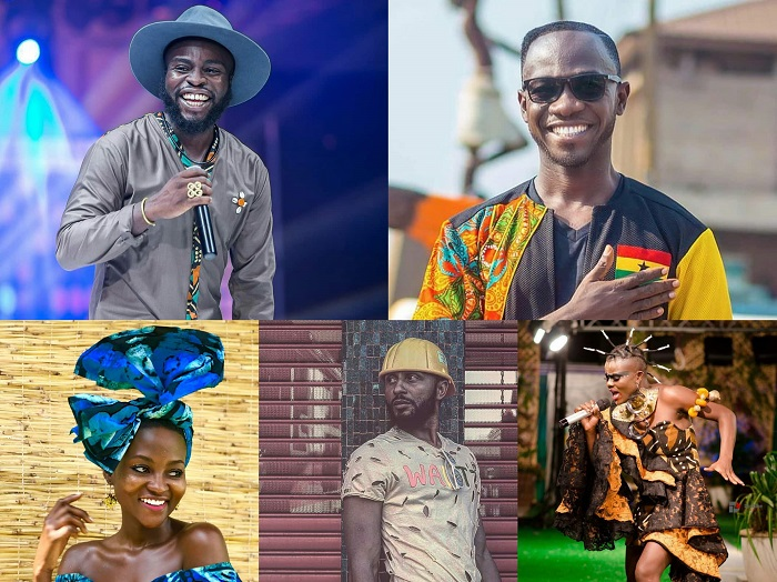 Ghanaian celebrities showing the African culture in style