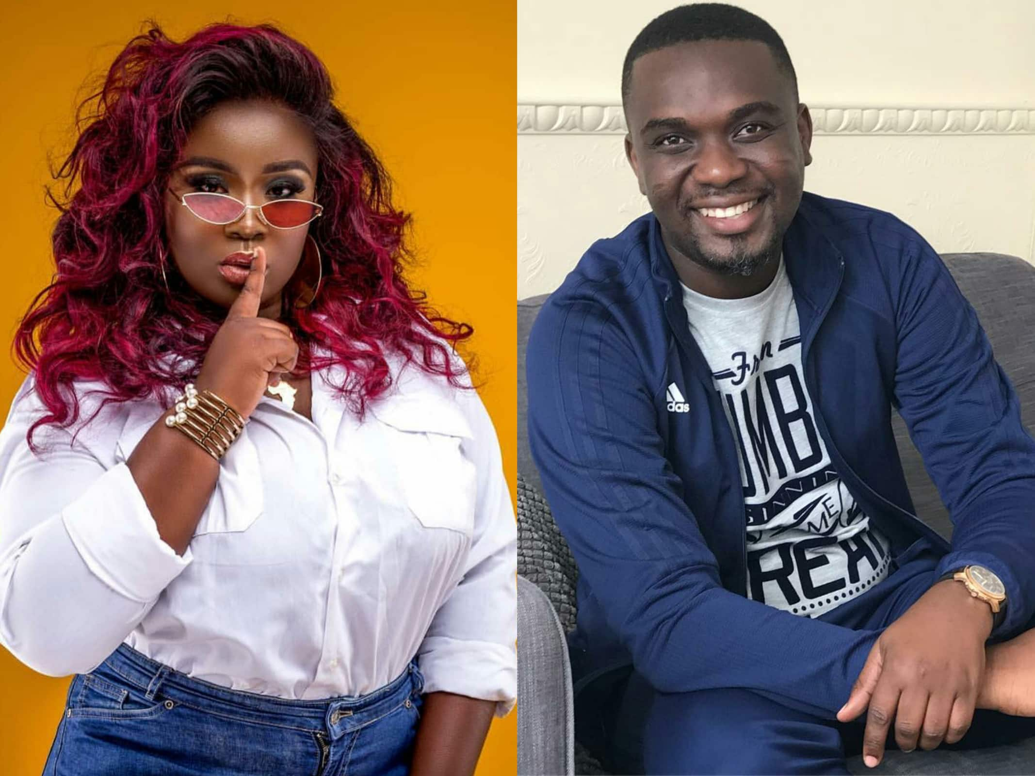 Maame Serwaa expresses deep love for Joe Mettle