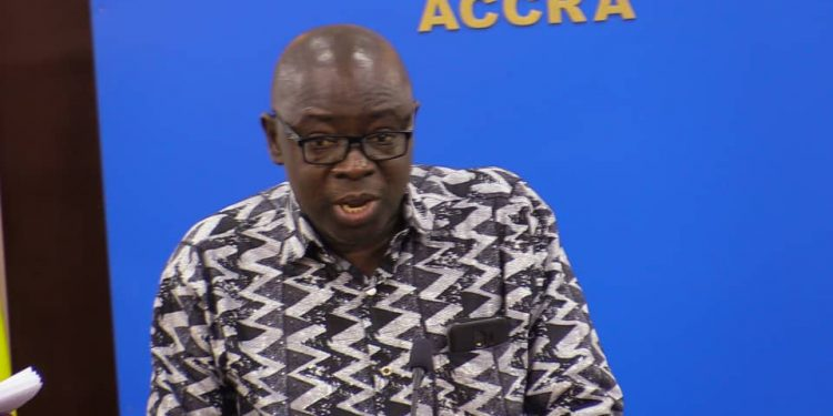 Minister for Lands and Natural Resources, Kwaku Asomah Cheremeh