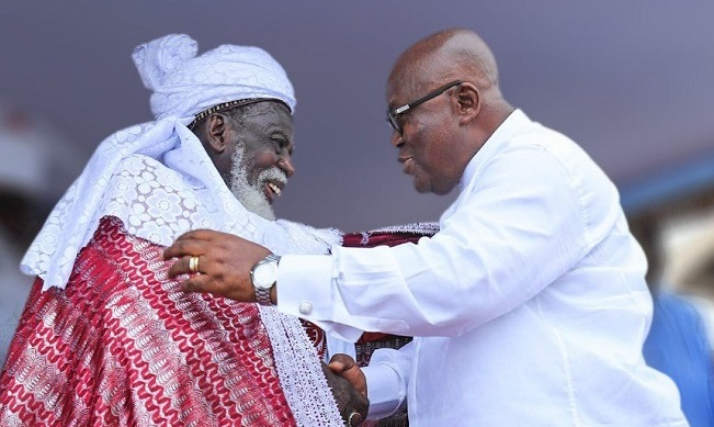 National Chief Imam and President Akufo-Addo