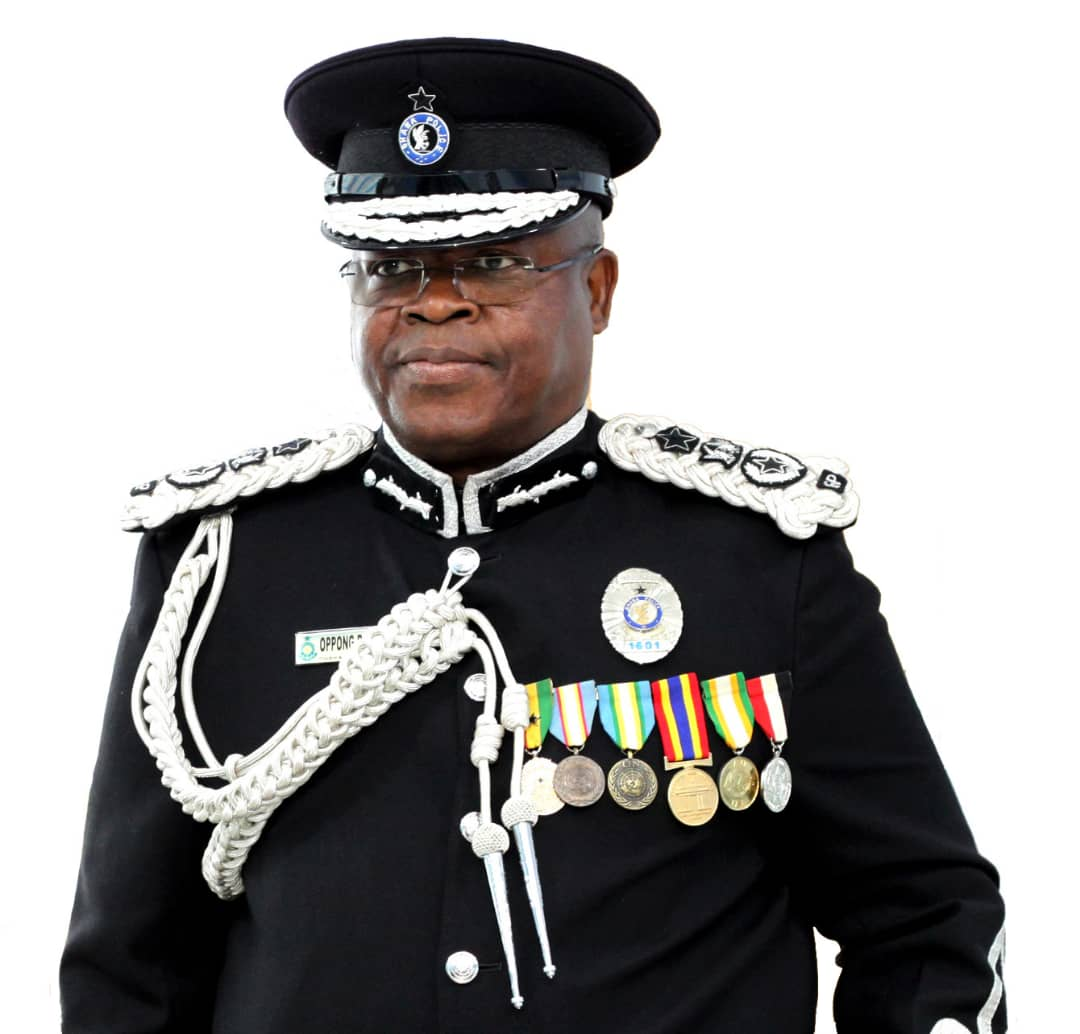 Acting Inspector General of Police (IGP), Mr James Oppong-Boanuh