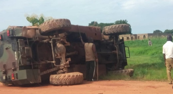 Soldier dies in armoured car accident at Zebilla