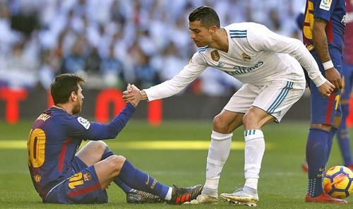 Ronaldo reveals the difference between himself and Messi
