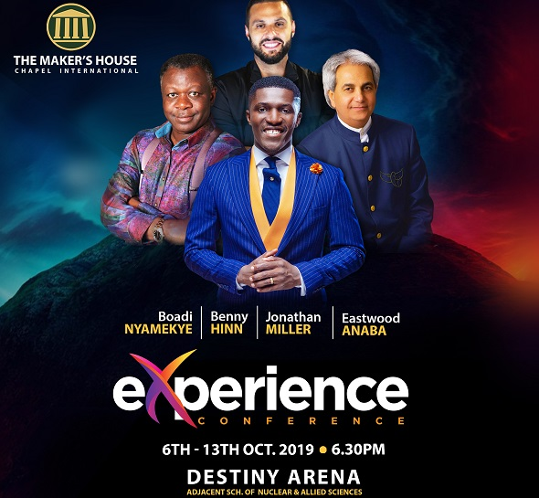 Benny Hinn headlines 'Experience Conference 2019' at The Maker's House Chapel