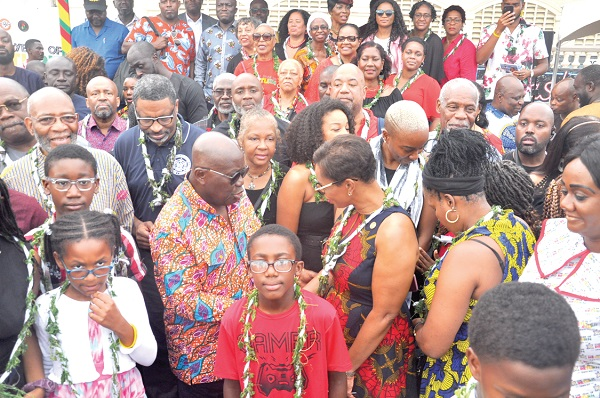 Ghana marks 'Year of Return' at James Town