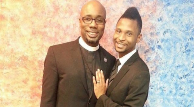 The gay pastor and his partner