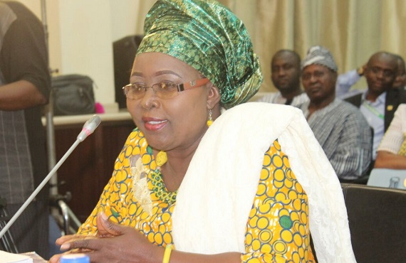 Hajia Alima Mahama the Minister for Local Government and Rural Development