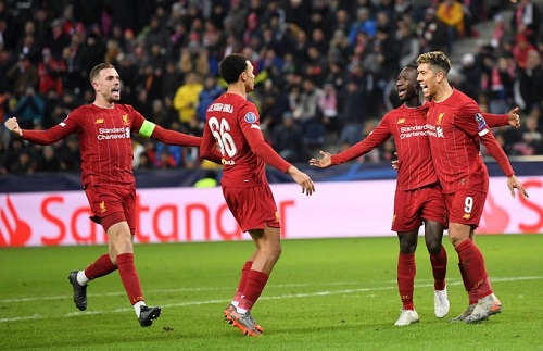 UCL: Liverpool, Napoli book round of 16 place