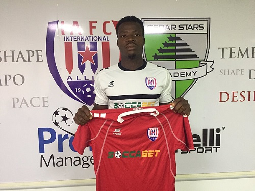 Official: Inter allies announce the signing of Chesco Amuzu.