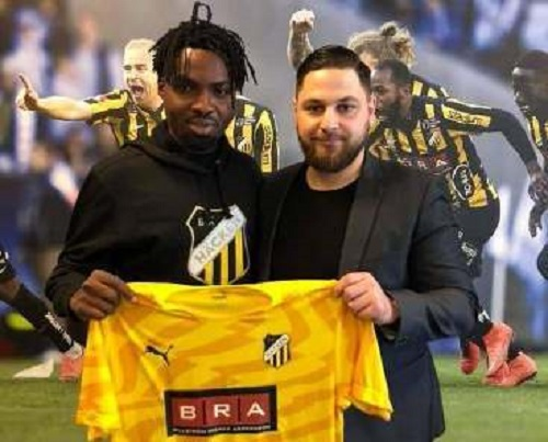 Swedish side BK Hacken announce singing of Kwame Kizitio