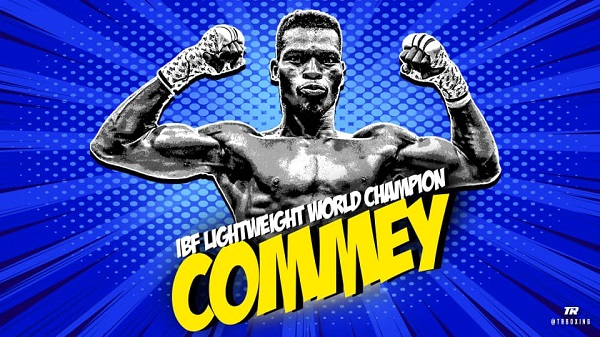 VIDEO: Commey knocks out Chaniev to win IBF world lightweight title