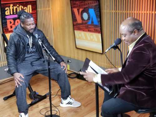 Samini's #Untamed interview with Voice Of America airs today