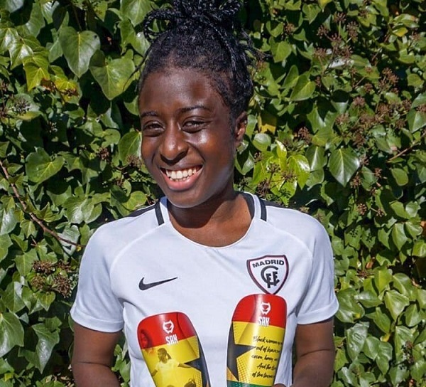 German-born Madrid forward Eunice Beckmann opens to Black Queens call up