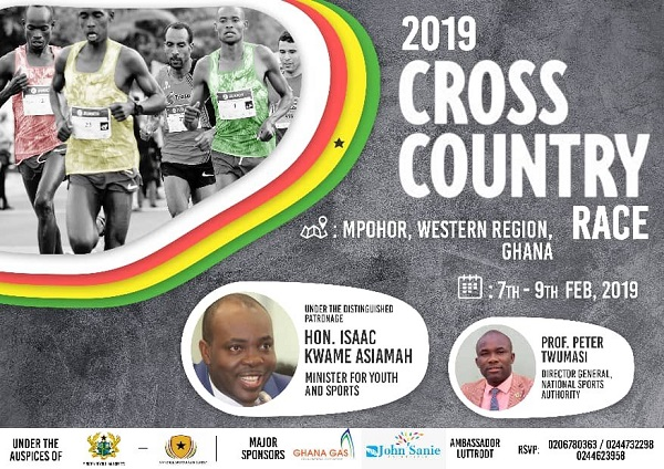 2019 National Cross Country to be held at Mpohor