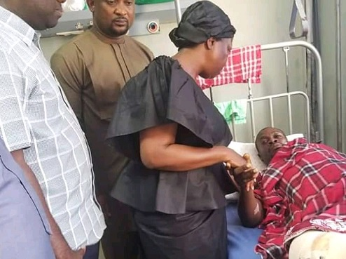 MP Lydia Alhassan donates GHC 5K to injured victims of Ayawaso violence