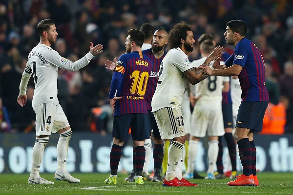 Copa del Rey: Barcelona and Real Madrid share the spoils in an epic first leg clash