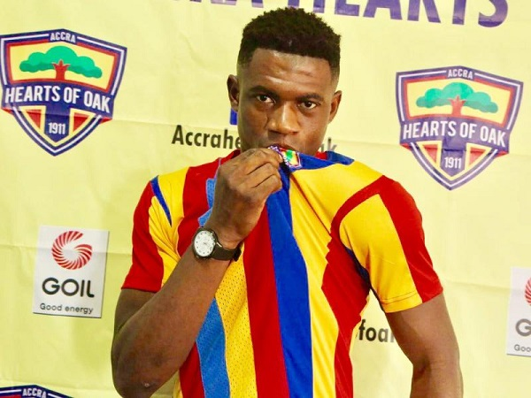 Richmond Ayi discusses the reason for joining Hearts Of Oak