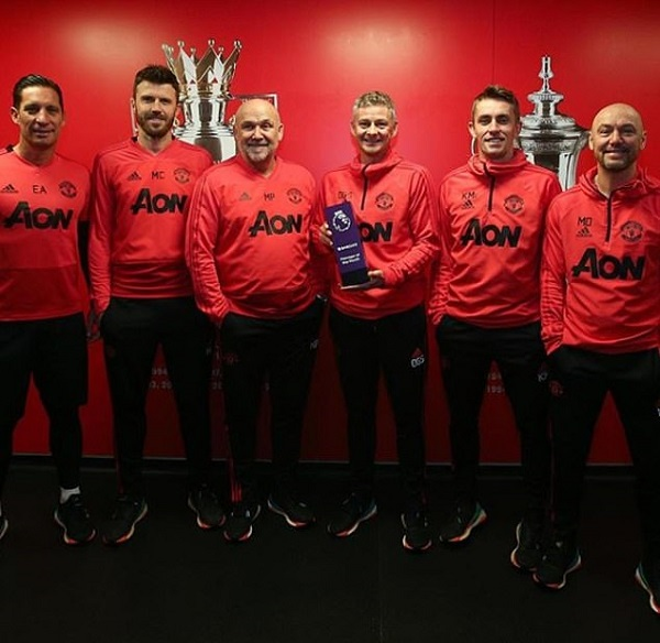 Ole Gunnar Solskjaer named Premier League manager of the month as he becomes first Manchester United boss to win award since Sir Alex Ferguson