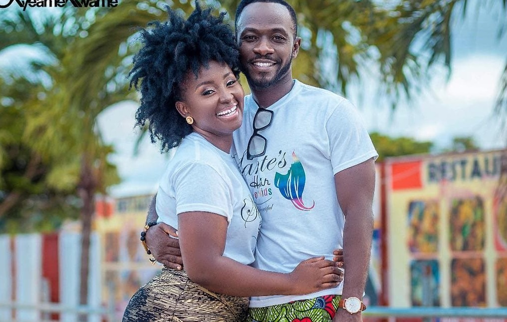 We exchanged phones for a week when we were dating - Okyeame Kwame's wife