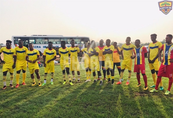 Highlights: Heart Of Lions fall to Hearts Of Oak at Pobiman in friendly