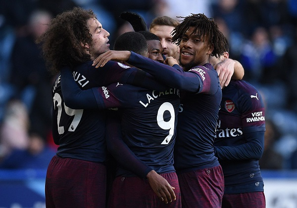 EPL: Arsenal Stun Huddersfield to keep top four hopes alive