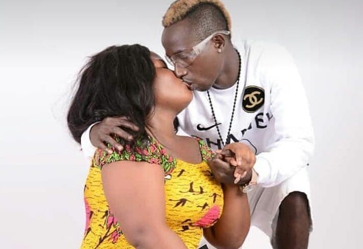 Patapaa shares lovely kiss with his girlfriend in new photos