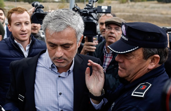Jose Mourinho accepts 1-year suspended jail sentence